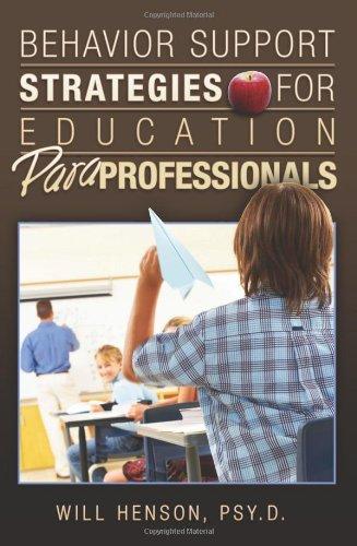 Behavior Support Strategies for Education Paraprofessionals 9781419696121
