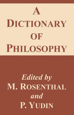 A Dictionary of Philosophy 9781410209368