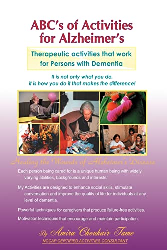 ABC's of Activities for Alzheimers 9781412060844