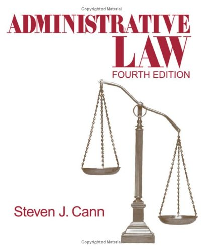 Administrative Law 9781412913966