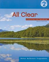 All Clear 2: Listening and Speaking