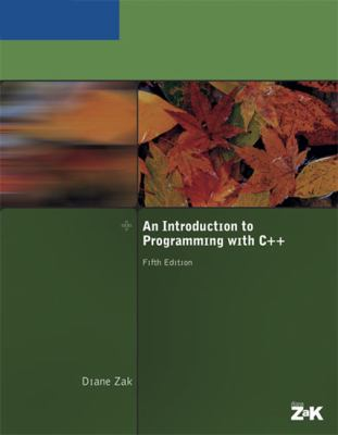 An Introduction to Programming with C++ 9781418836184