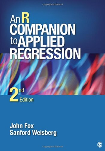 An R Companion to Applied Regression 9781412975148