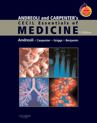 Andreoli and Carpenter's Cecil Essentials of Medicine 9781416029335
