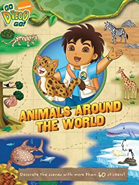Animals Around the World [With Sticker(s)] 9781416990420