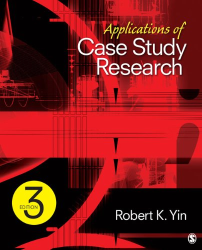 Applications of Case Study Research 9781412989169