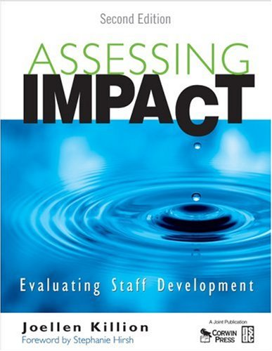 Assessing Impact: Evaluating Staff Development [With CDROM] 9781412953559