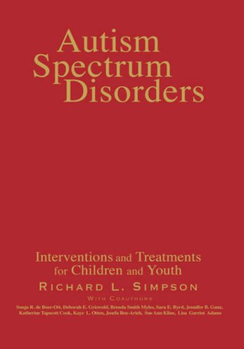 Autism Spectrum Disorders: Interventions and Treatments for Children and Youth 9781412906029