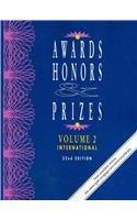 Awards, Honors & Prizes: International 9781414458076
