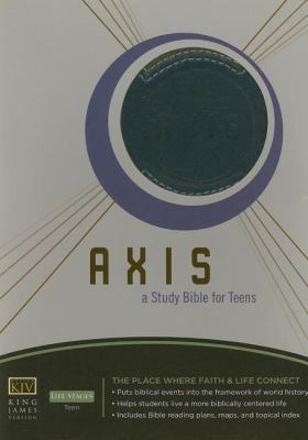 Axis Bible-KJV: A Study Bible for Teens 9781418533175