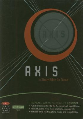 Axis Bible-NKJV: A Study Bible for Teens 9781418533168
