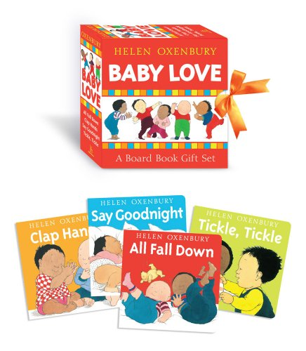 Baby Love: A Board Book Gift Set/All Fall Down; Clap Hands; Say Goodnight; Tickle, Tickle 9781416995463