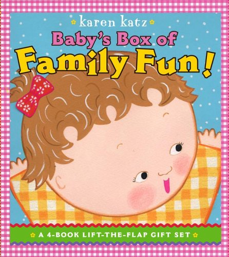 Baby's Box of Family Fun: A 4-Book Lift-The-Flap Gift Set: Where Is Baby's Mommy?; Daddy and Me; Grandpa and Me, Grandma and Me 9781416927952