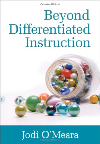 Beyond Differentiated Instruction 9781412982030