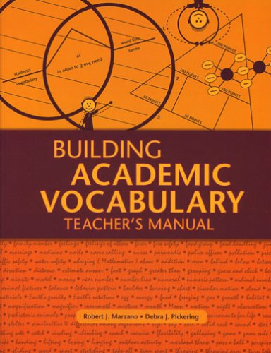 Building Academic Vocabulary: Teacher's Manual 9781416602347
