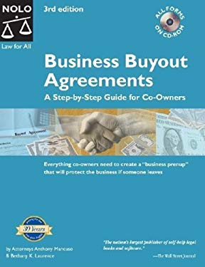Business Buyout Agreements: A Step by Step Guide for Co-Owners [With CDROM] 9781413301915