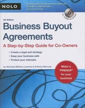 Business Buyout Agreements: A Step-By-Step Guide for Co-Owners [With CDROM]