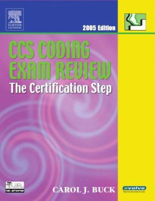 CCS Coding Exam Review: The Certification Step [With CD-ROM] 9781416023968