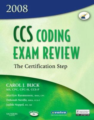 CCS Coding Exam Review: The Certification Step [With CDROM] 9781416036838