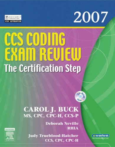 CCS Coding Exam Review: The Certification Step 9781416036784