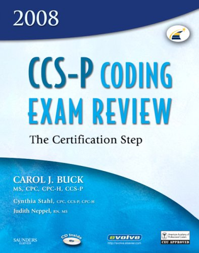CCS-P Coding Exam Review: The Certification Step [With CDROM] 9781416036920