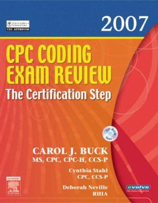 CPC Coding Exam Review: The Certification Step 9781416037163