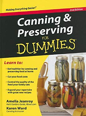 Canning & Preserving for Dummies 9781410424587
