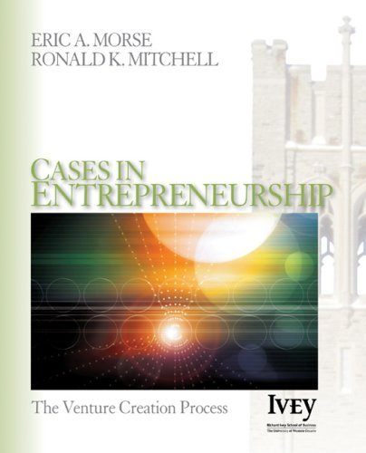 Cases in Entrepreneurship: The Venture Creation Process 9781412909761
