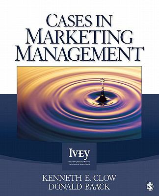 Cases in Marketing Management 9781412996037