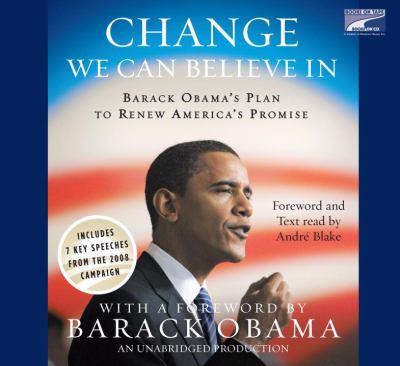 Change We Can Believe(lib)(CD) 9781415962688