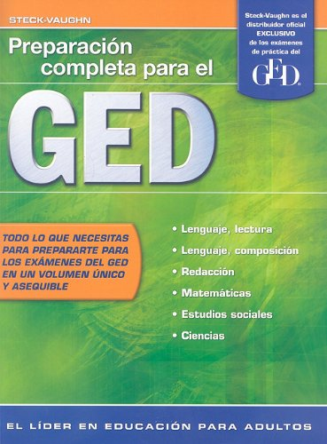 Preparacion Completa Para el GED 9781419053344