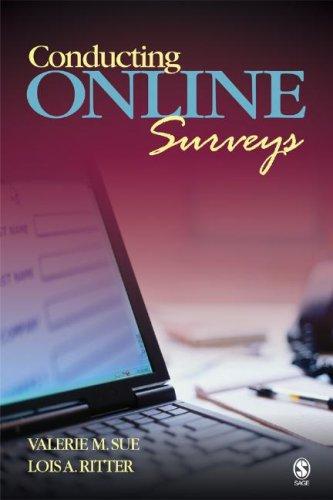 Conducting Online Surveys 9781412937542