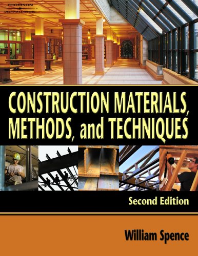 Construction Methods, Materials, and Techniques 9781418001810