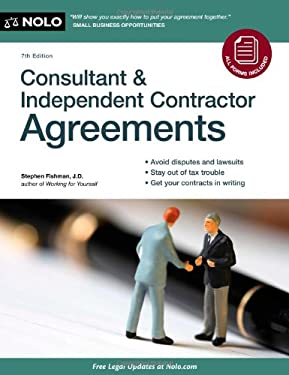Consultant & Independent Contractor Agreements [With CDROM] 9781413316223