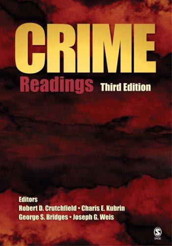 Crime: Readings 9781412949675
