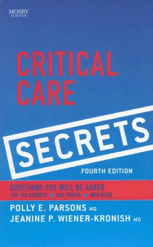 Critical Care Secrets 9781416032069