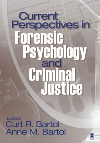 Current Perspectives in Forensic Psychology and Criminal Justice 9781412925907
