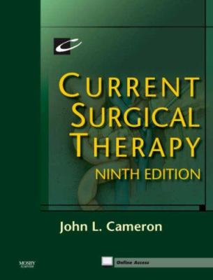 Current Surgical Therapy: Expert Consult: Online and Print 9781416034971