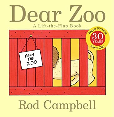 Dear Zoo: A Lift-The-Flap Book 9781416947370