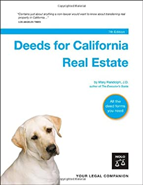 Deeds for California Real Estate 9781413306217
