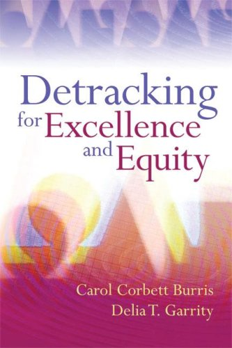 Detracking for Excellence and Equity 9781416607083