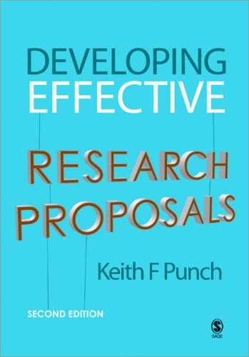 Developing Effective Research Proposals 9781412921268