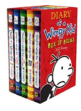 Diary of a Wimpy Kid Box of Books 9781419701535