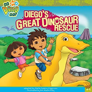 Diego's Great Dinosaur Rescue 9781416958673