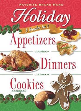 Digest 3 in 1 Holiday Appetizers, Dinners and Cookies 9781412798273