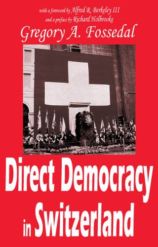 Direct Democracy in Switzerland 9781412805056