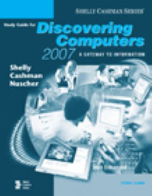 Discovering Computers 2007 Study Guide 9781418843717