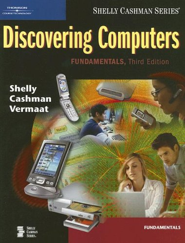 Discovering Computers: Fundamentals 9781418843724