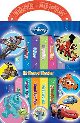 Disney 12 Board Books 9781412717274