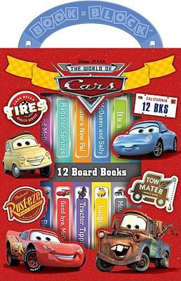 Disney Pixar the World of Cars 9781412776622